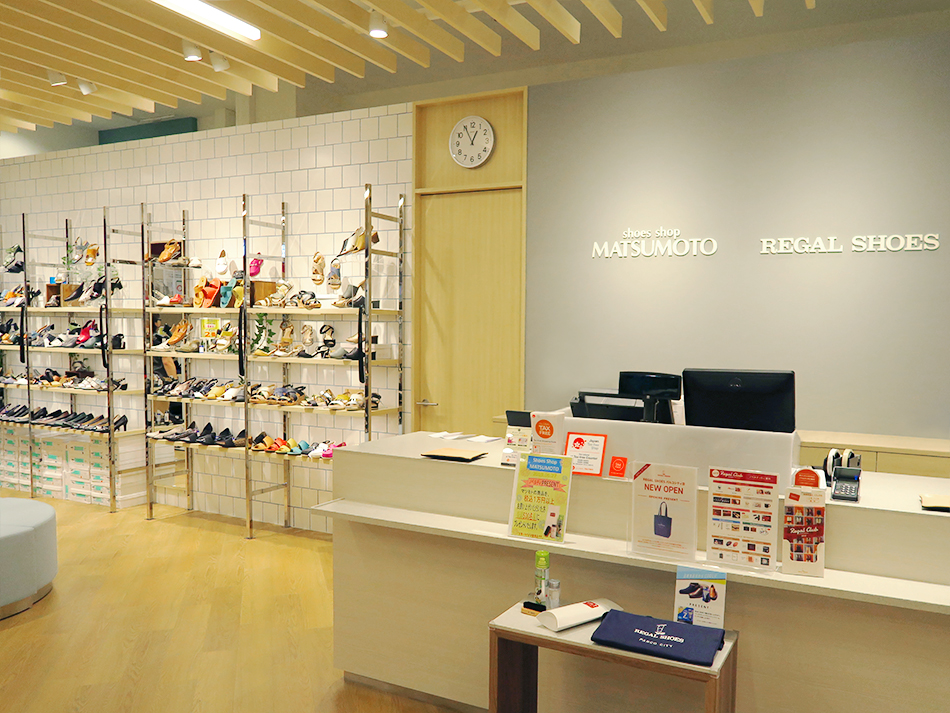 shoes shop MATSUMOTO / REGAL SHOES パルコシティ店